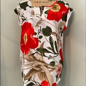 NY&Co Floral Top Size Medium